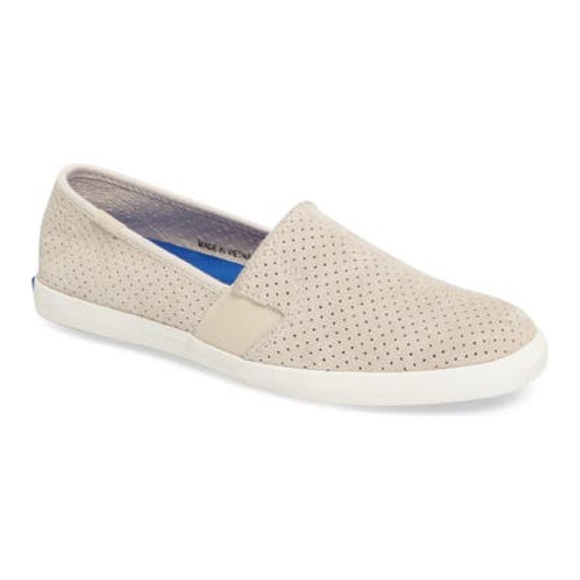 Keds Perforated Chillax Slip On Sneakers
